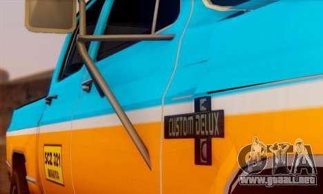 Chevrolet Custom Deluxe para la visión correcta GTA San Andreas