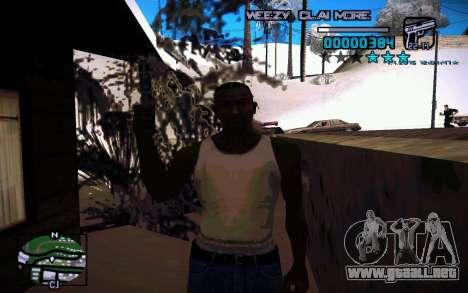 HUD by Weezy para GTA San Andreas tercera pantalla