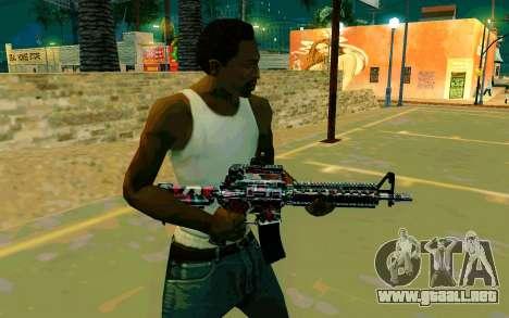 M4A1 (Looney) para GTA San Andreas