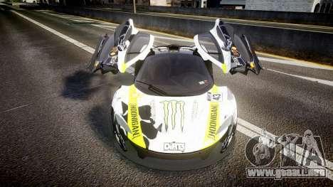 McLaren P1 2014 [EPM] Ken Block para GTA 4 vista interior