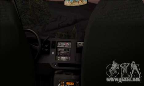Chevrolet Exspress Ambulance para la visión correcta GTA San Andreas