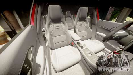 Mersedes-Benz A45 AMG para GTA 4 vista superior