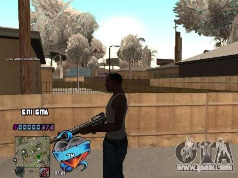 C-HUD Corazón para GTA San Andreas séptima pantalla
