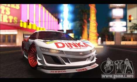 Dinka Jester Racear (GTA V) para la visión correcta GTA San Andreas