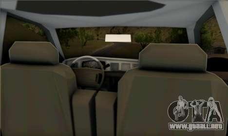 Ford Crown Victoria 1992 State Patrol para la visión correcta GTA San Andreas