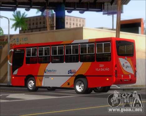 Caio Foz Super I 2006 Transurbane Guarulhoz 2201 para la visión correcta GTA San Andreas