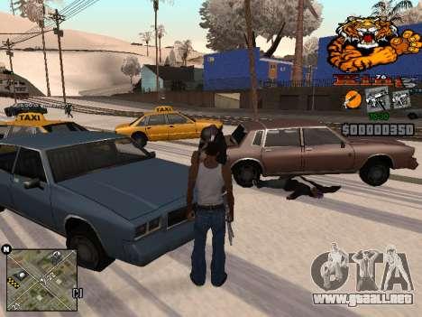 C-HUD King para GTA San Andreas tercera pantalla