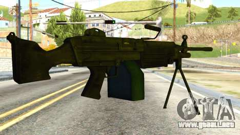 M16 from Global Ops: Commando Libya para GTA San Andreas segunda pantalla