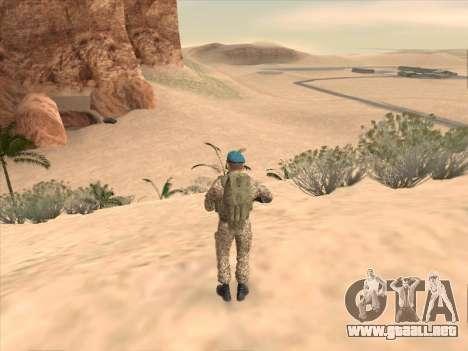 Granadero de las tropas aerotransportadas de la para GTA San Andreas quinta pantalla