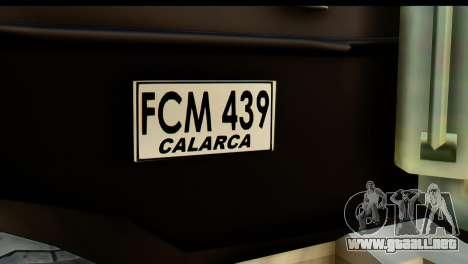 Chevrolet C.O.E. Semimula para la visión correcta GTA San Andreas