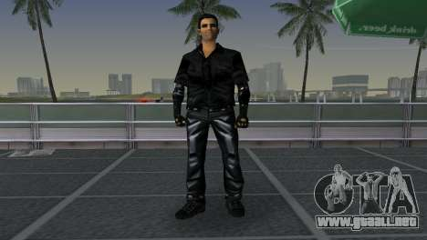 Tommi Black Skin para GTA Vice City tercera pantalla