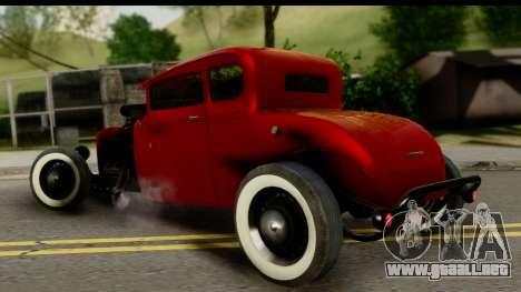 Smith 34 Hot Rod para GTA San Andreas left