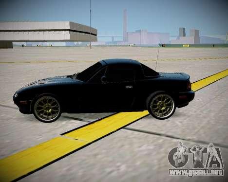 Mazda MX-5 JDM para la visión correcta GTA San Andreas