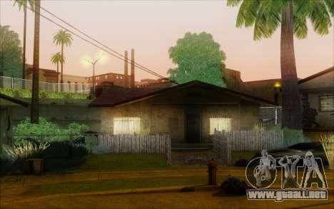 SA_nVidia: Capturas De Pantalla De La Edición para GTA San Andreas quinta pantalla
