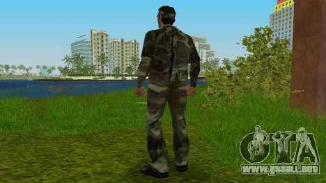 Original VC Camo Skin para GTA Vice City sucesivamente de pantalla