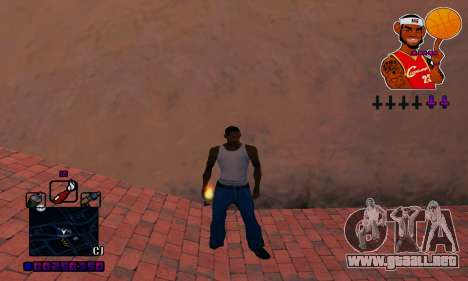 C-HUD Basketball para GTA San Andreas