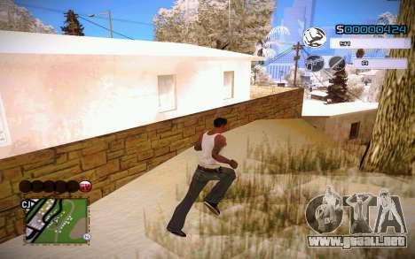 C-HUD by Jeremy Wilsher para GTA San Andreas tercera pantalla
