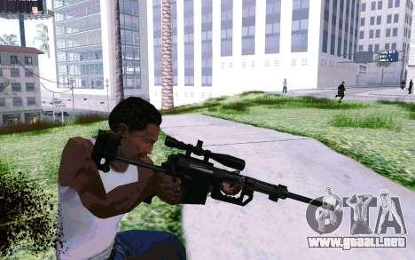 Cheytac M200 Black para GTA San Andreas tercera pantalla
