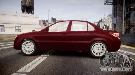 Iran Khodro Dena para GTA 4 left