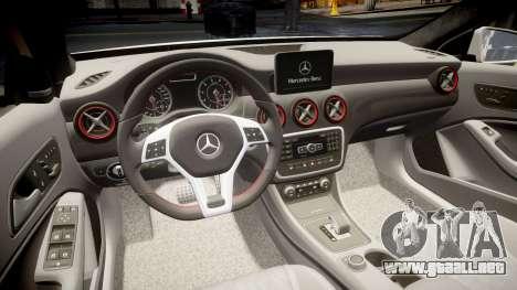 Mersedes-Benz A45 AMG PJs5 para GTA 4 vista lateral