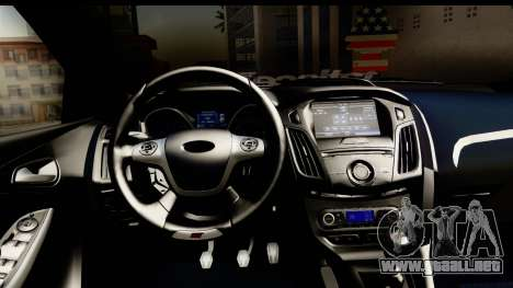 Ford Focus ST para GTA San Andreas vista posterior izquierda