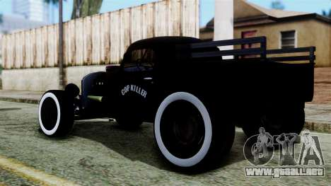 Hot-Rod En Ruso para GTA San Andreas left