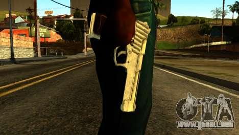 Desert Eagle from GTA 5 para GTA San Andreas tercera pantalla