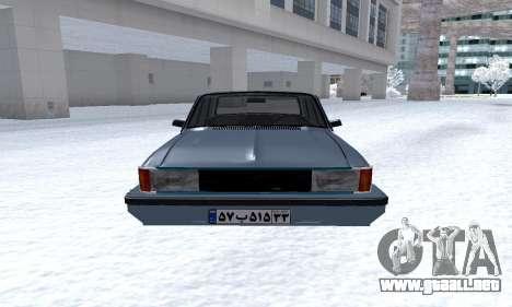 Peykan Separ Joshan 1600 para visión interna GTA San Andreas