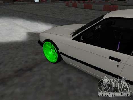 BMW M3 E30 Drift para la visión correcta GTA San Andreas