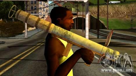 Firework Launcher from GTA 5 para GTA San Andreas tercera pantalla