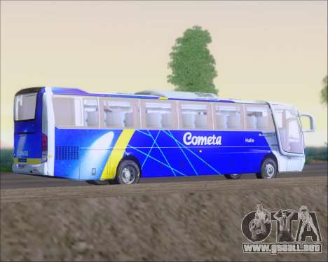 Busscar Vissta Buss LO Cometa para GTA San Andreas vista hacia atrás