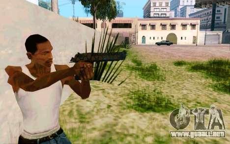 Desert Eagle (Dodgers) para GTA San Andreas tercera pantalla