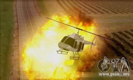 GTA 5 Effects para GTA San Andreas segunda pantalla