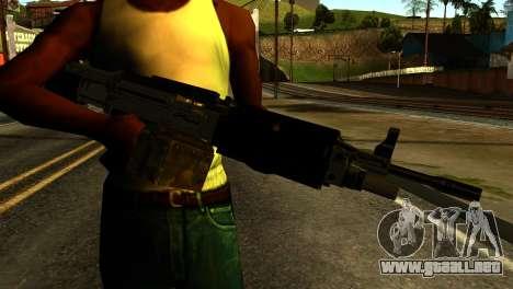 Combat MG from GTA 5 para GTA San Andreas tercera pantalla