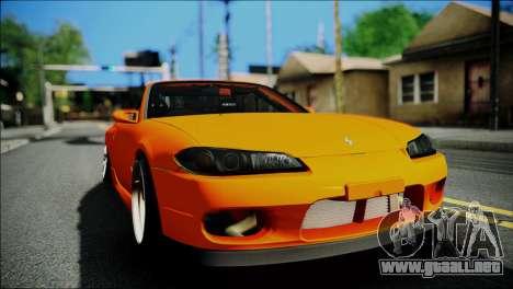 Nissan Silvia S15 Varietta para la visión correcta GTA San Andreas