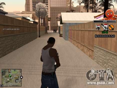 C-HUD Cookie para GTA San Andreas sexta pantalla