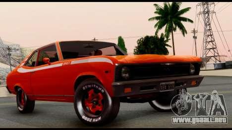 Chevrolet Series 2 1973 para la visión correcta GTA San Andreas