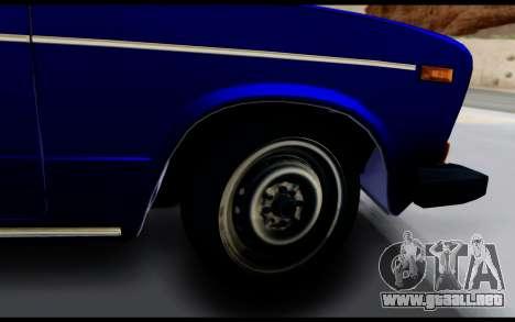 VAZ 2106 Escorrentía para GTA San Andreas