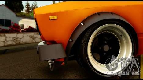 VAZ 2105 JDM para GTA San Andreas vista hacia atrás