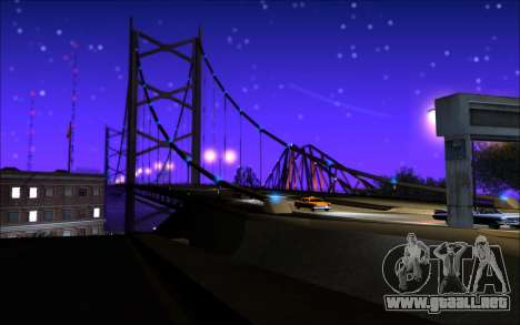 Whim NY ENB para GTA San Andreas sucesivamente de pantalla