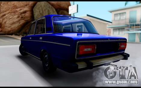 VAZ 2106 Escorrentía para GTA San Andreas left