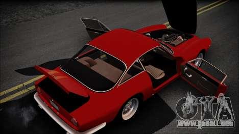 Ferrari 250 GT Berlinetta Lusso 1963 [ImVehFt] para visión interna GTA San Andreas