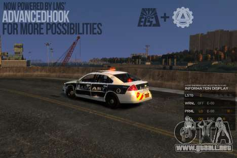 Emergency Lights System v8 [ELS] para GTA 4 tercera pantalla