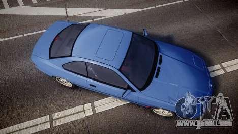 BMW E31 850CSi 1995 [EPM] para GTA 4 visión correcta