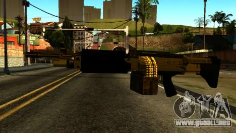 Combat MG from GTA 5 para GTA San Andreas