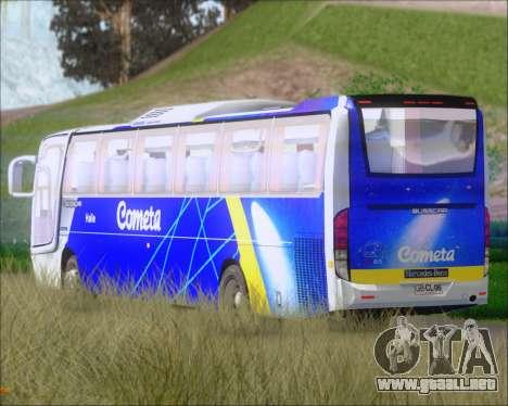 Busscar Vissta Buss LO Cometa para vista lateral GTA San Andreas