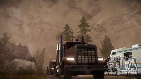ENB Autumn para GTA San Andreas séptima pantalla