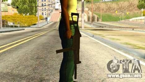 UMP45 from Global Ops: Commando Libya para GTA San Andreas tercera pantalla