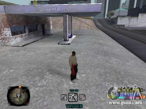 C-HUD Color Tasher para GTA San Andreas segunda pantalla
