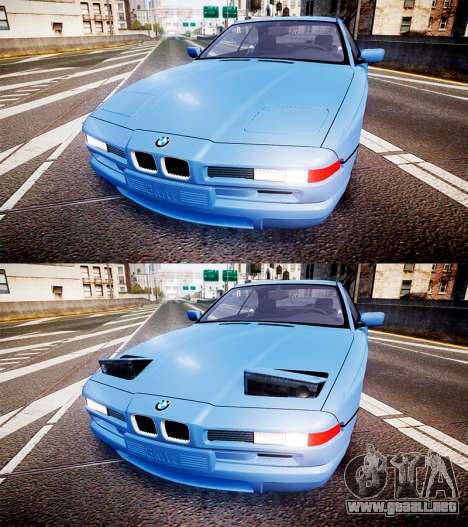 BMW E31 850CSi 1995 [EPM] para GTA 4 vista lateral
